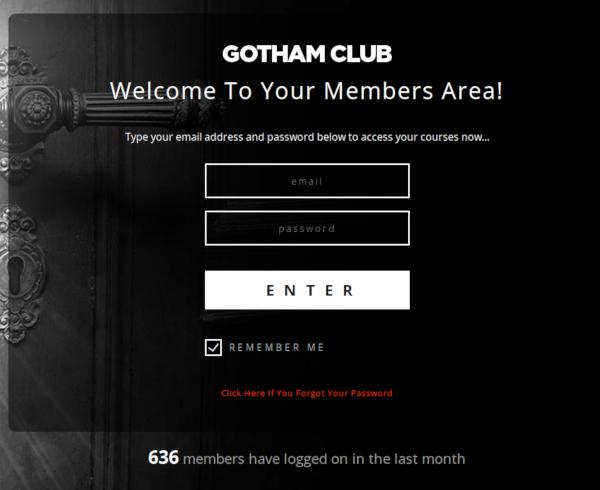 Carlos Mendez Project - Gotham Dating Club, Web Developer>