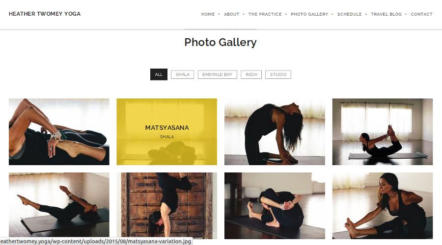 Heather Twomey  Yoga Gallery